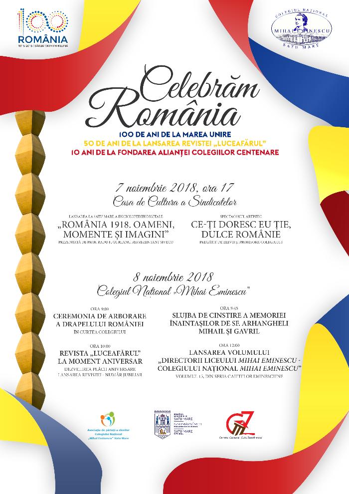 Eminescienii celebrează România