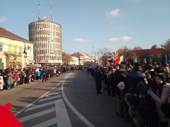 Parada militara la Satu Mare (Fotogalerie)