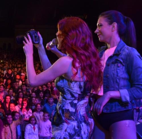 Elena Gheorghe si Phoenix in aceasta seara, in concert, la Satu Mare