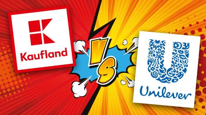 Kaufland scoate de pe rafturi toate produsele UNILEVER
