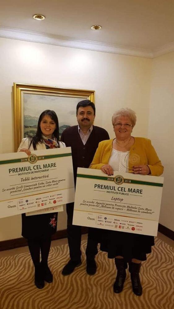 Recunoastere nationala ! Scoala din judet premiata la o gala din Capitala (Foto)