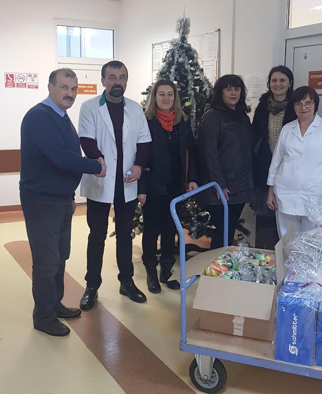 Gest nobil ! Donatie catre Sectia de Pediatrie (Foto)