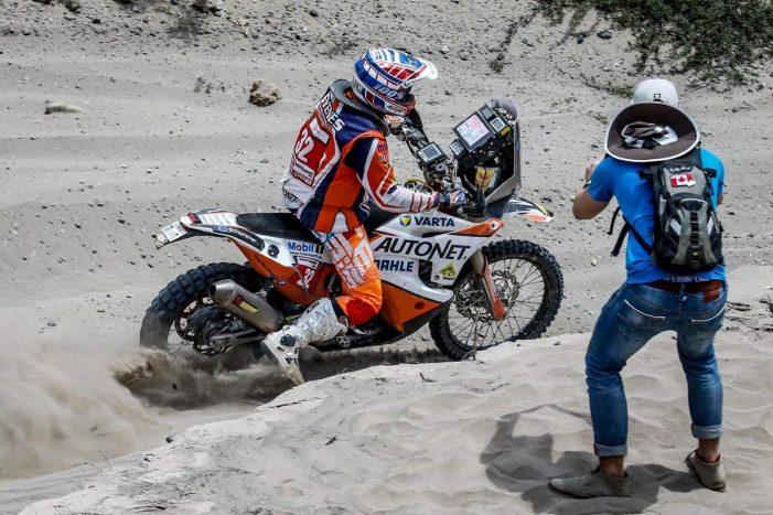 "Dakar 2019: Mani Gyenes, start la proba ""Maraton"""