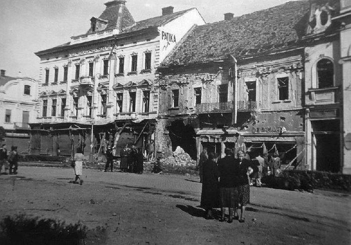 Cum arăta Sătmarul după bombardamentele din 1944 (Foto)
