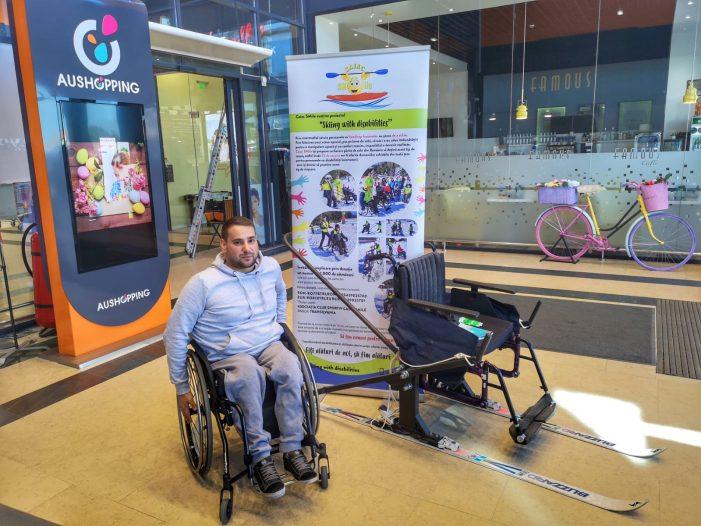 """Susține alături de Caiac SMile proiectul """"Skiing with disabilities"""""""