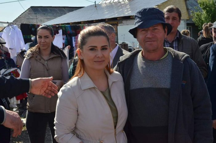 Investiții mari la Tarna Mare. Ioana Bran în mijlocul oamenilor (Fotogalerie)