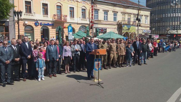 """Ministrul Gabriel Leș: """"România Întregită a fost clădită prin eroicul sacrificiu al ostașilor ei"""""""