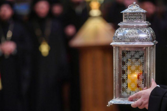 Lumina Sfântă va fi răspândită în toată țara