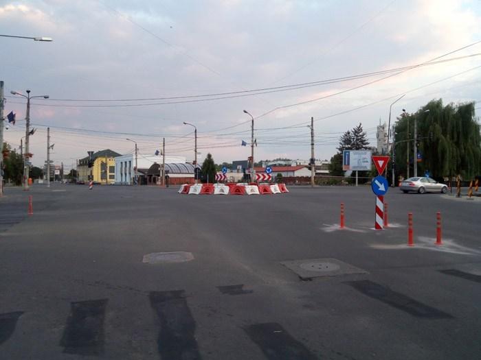 Propunere pentru fluidizarea circulației la Burdea