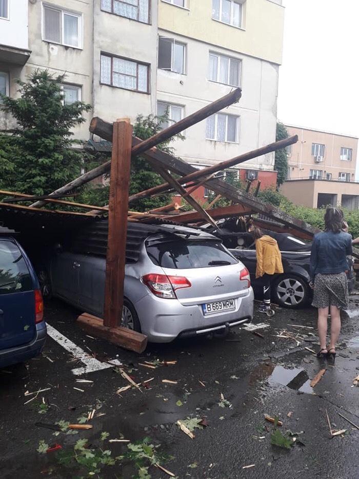 Imagini apocaliptice din județul vecin (FOTO)