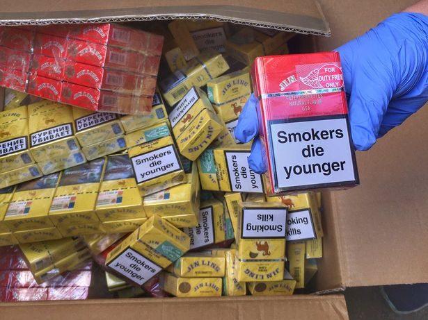 Trei contrabandisti satmareni, prinsi cu masina dosita cu tigari