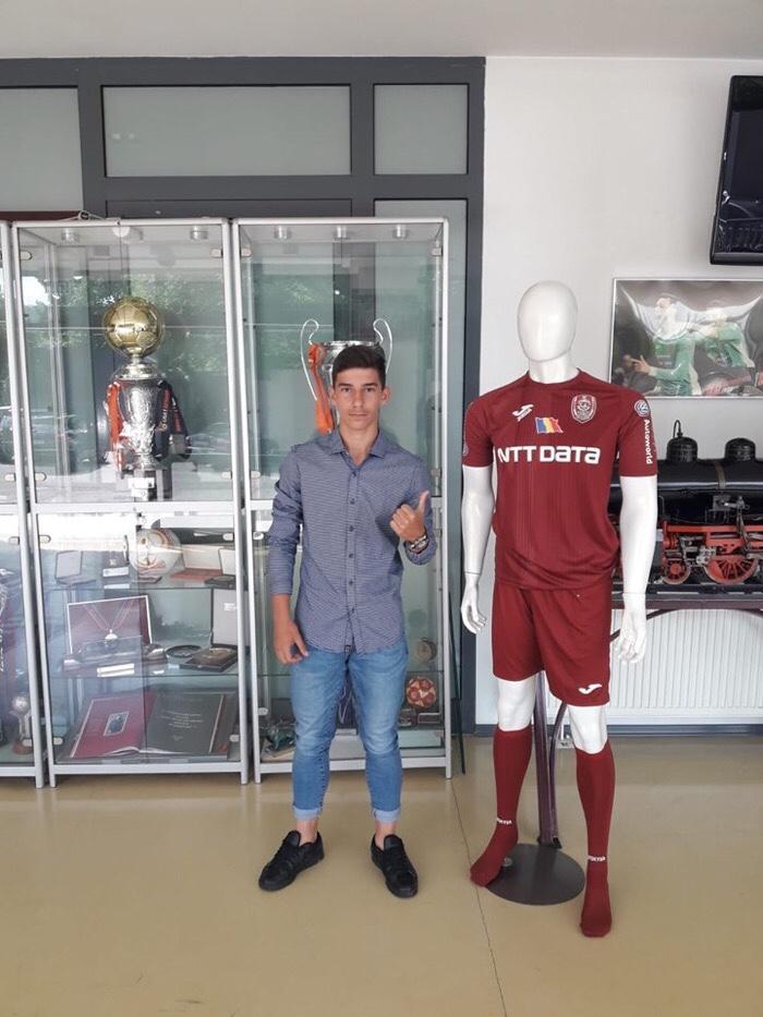 Fotbalist sătmărean transferat la CFR Cluj
