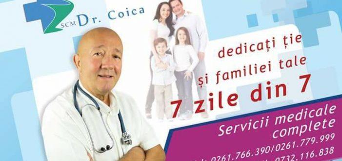 Consultații medicale de specialitate la SCM Dr. Coica