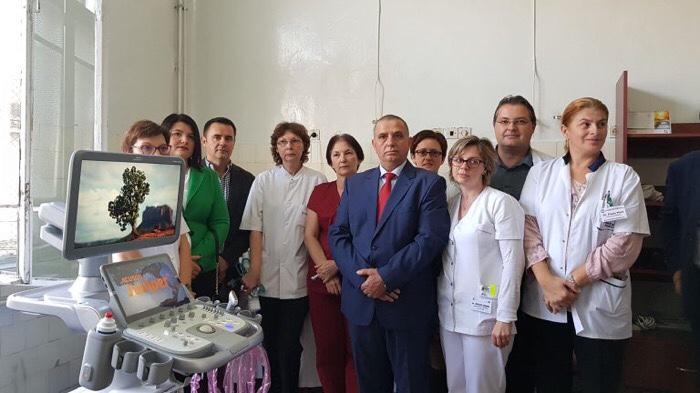 Aparatură în valoare de 100.000 de euro donată de Vasile Lucuț Spitalului Județean