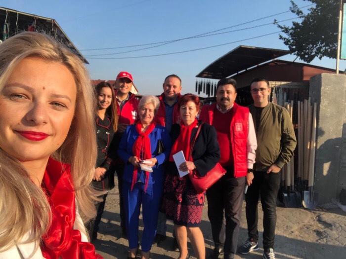 PSD Satu Mare- campanie electorală în municipiu