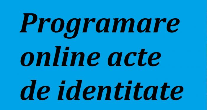 Programare on-line la Evidenta Populatiei din Carei