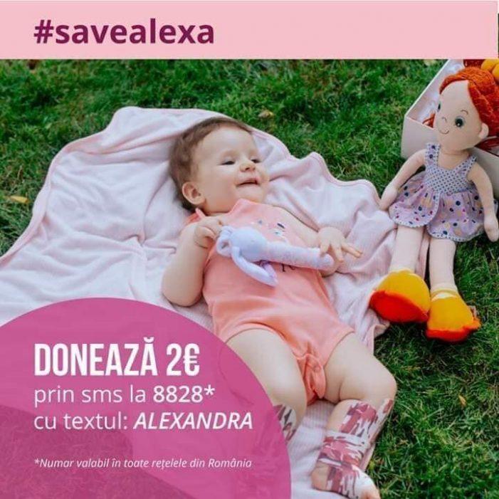 Sa o salvam pe Alexa ! O fetița de doar 10 luni ! (Foto)