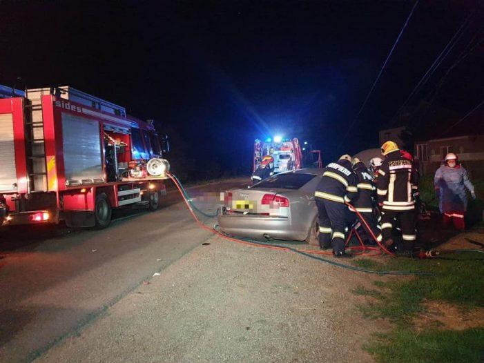 Accident în localitatea Caraseu. Un ranit