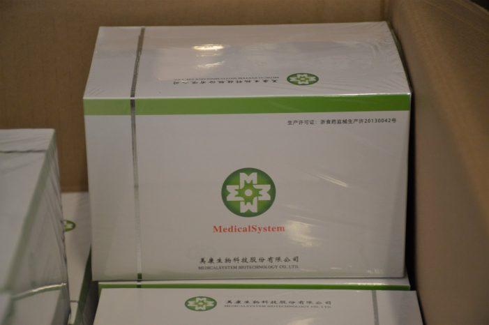 Kit-uri de teste COVID achizitionate pentru SJU Satu Mare