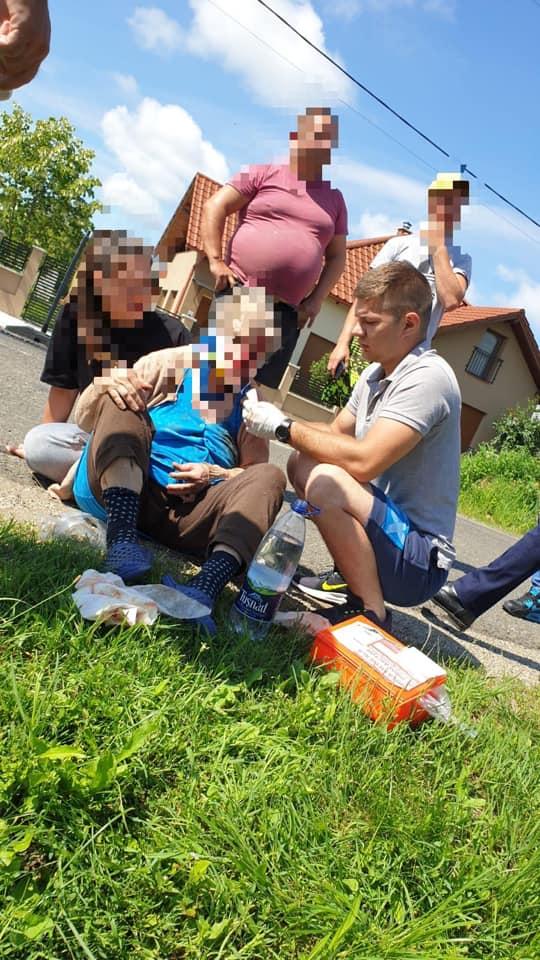 Salvatorii nu au concediu! Femeie ranita în judetul Cluj, salvată de un pompier din Satu Mare (Foto)