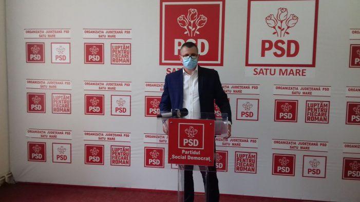 Ionut Onet, candidatul PSD Satu Mare la presedintia Consiliului Judetean. Dorel Coica la Primarie