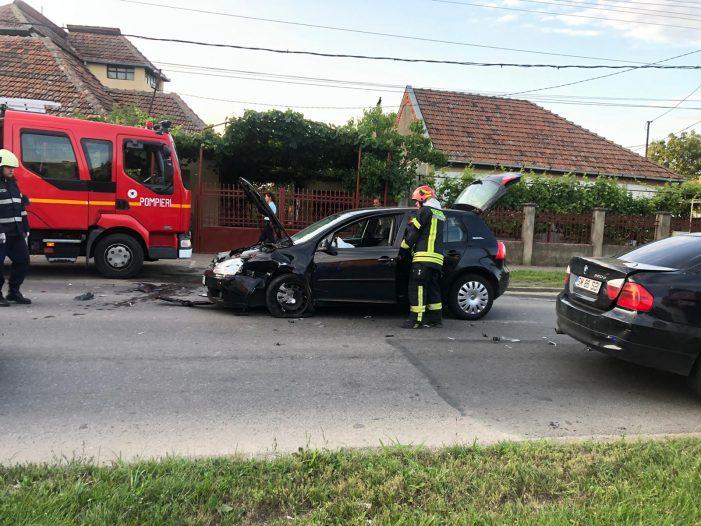 Accident cu 4 victime pe strada Odoreului (foto)