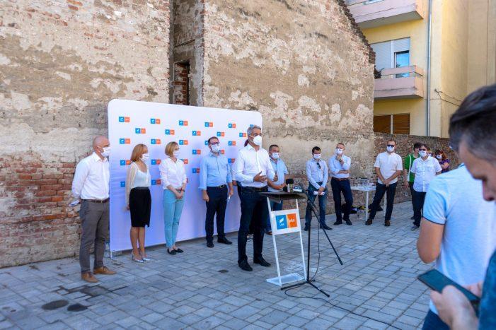 Alianța USR PLUS Satu Mare și-a lansat candidații la locale (Foto)