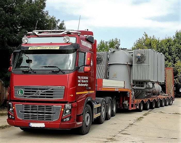 Transporturi de mare tonaj prin judet. Vezi traseul