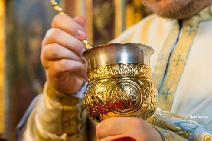 Biserica Ortodoxa rămână fidela traditiilor. Cum se va face Sfânta Impartasanie ?
