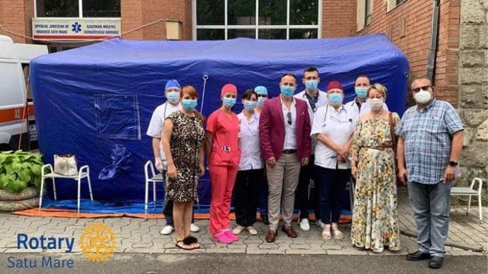 Donatie. Echipament medical performant, pentru Secția de Oncologie a SJU Satu Mare (Foto)