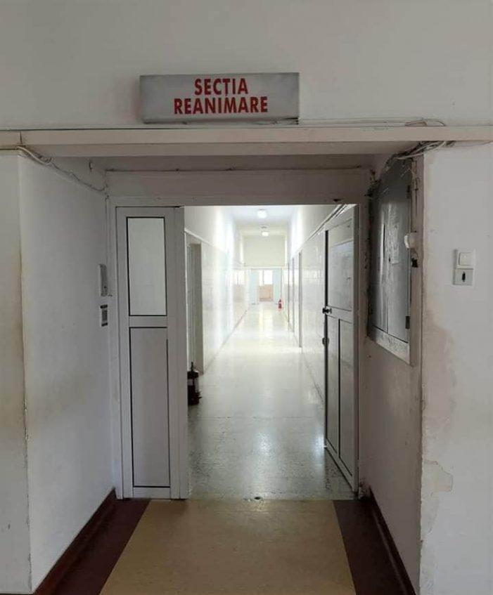 Se reabiliteaza Secția de Terapie Intensiva (Foto)