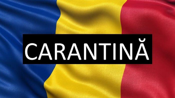 Primul oraș din Romania care a intrat în carantina. Care este acesta ?