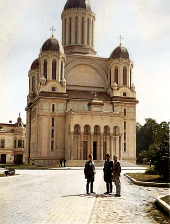 Așa arata zona Catedralei Ortodoxe din Satu Mare, în 1940 (Foto)