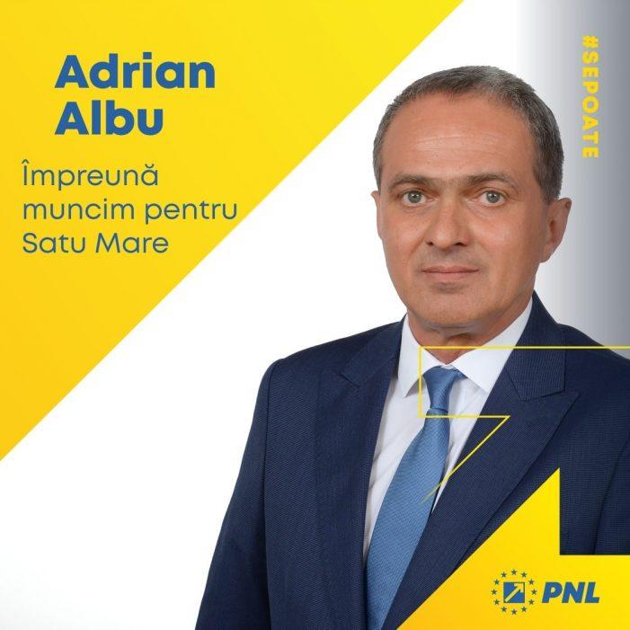 Adrian Albu si-a anuntat candidatura la Primaria Satu Mare