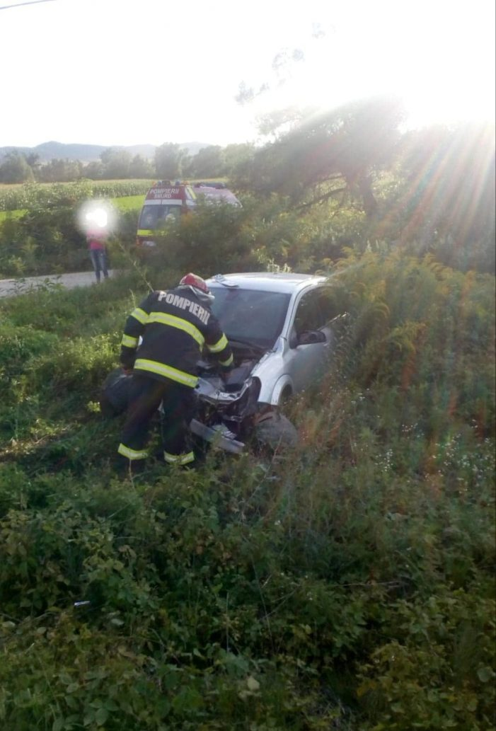 Accident la granița judetului Satu Mare. Doua victime (Foto)