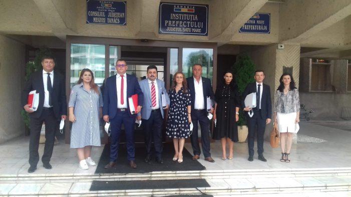 Radu Roca si-a depus candidatura la presedintia Consiliului Judetean Satu Mare (Foto)