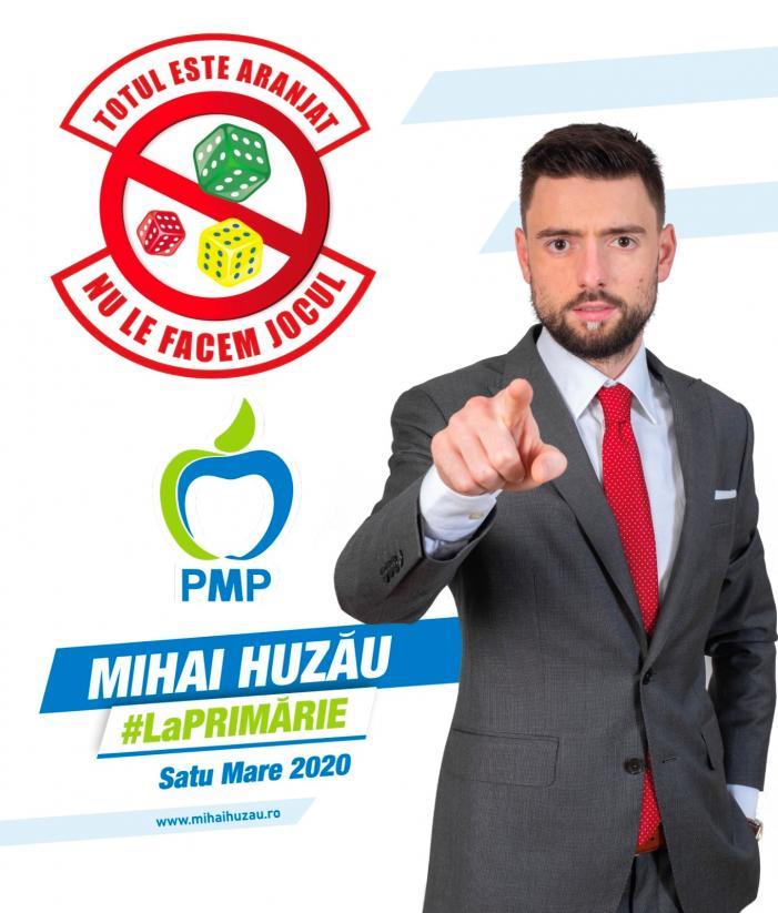 Mihai Huzau, candidatul PMP pentru Primaria Satu Mare (Foto)