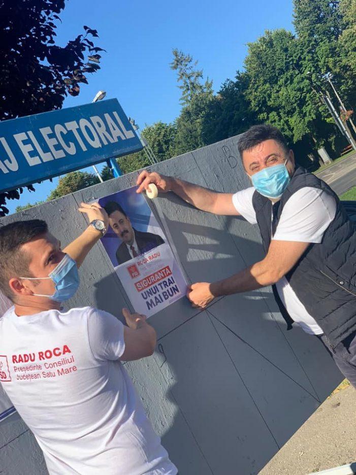 A început campania electorala. Social-democratii, alături de satmareni (Foto)