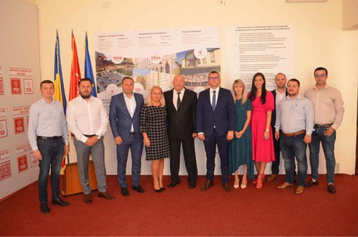 PSD Satu Mare și-a depus lista de candidați pentru scrutinul de la locale