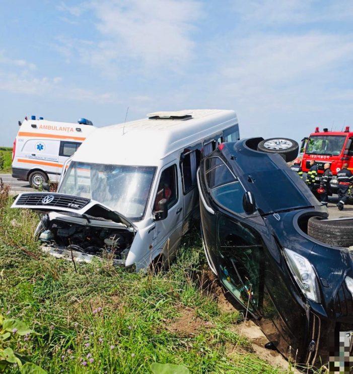 Cum s-a intamplat accidentul de la Dindestiu Mic ? Cine se face vinovat ? (Foto)