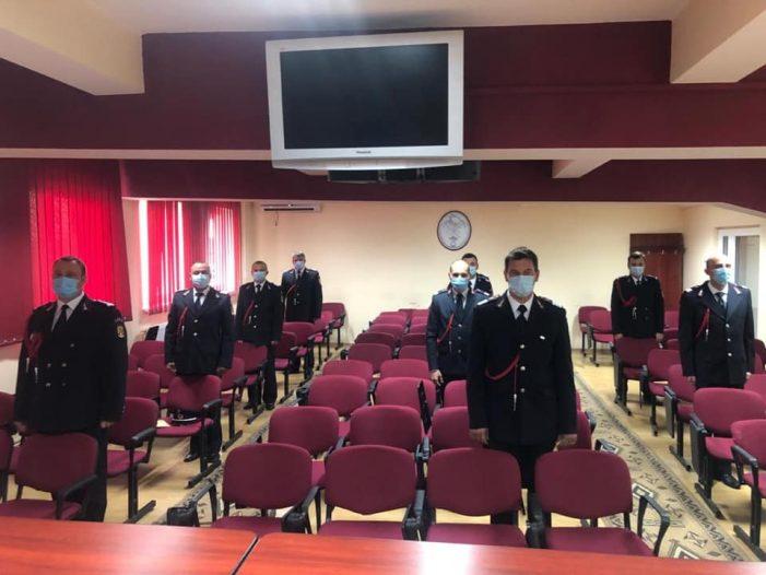 "26 de pompieri avansati în grad la ISU ""Somes"" Satu Mare (Foto)"