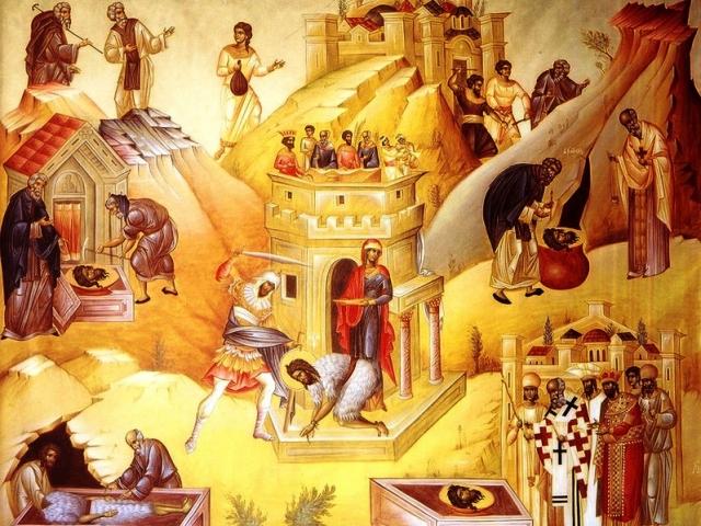 Tăierea capului Sfântului Ioan Botezătorul – Tradiții și superstiții