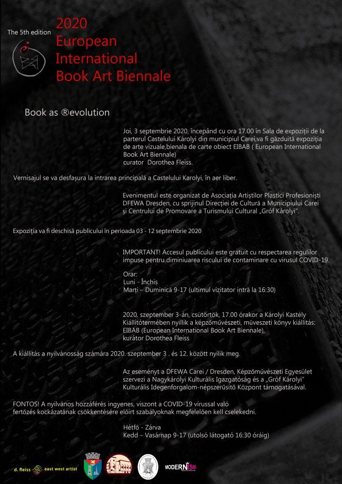 Expozitie: Bienala de carte la Castelul din Carei