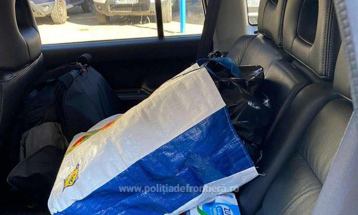 Contrabandist oprit de polițiști