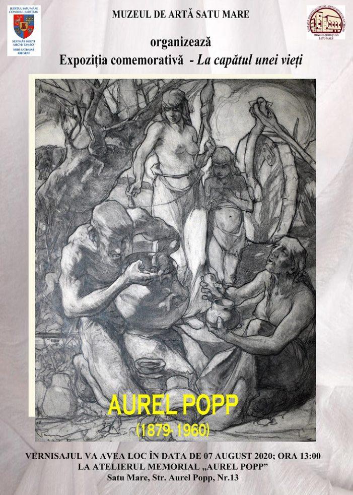 Expozitie in memoria artistului Aurel Popp