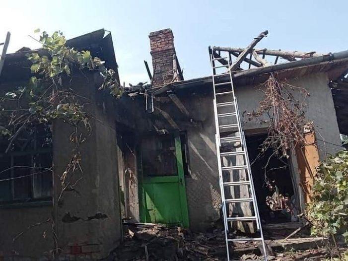 O familie are nevoie de ajutor în urma unui incendiu (Foto)