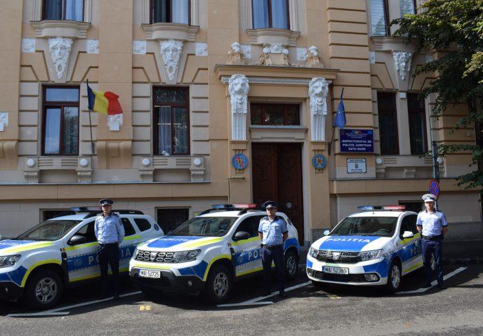 Dotari noi la IPJ Satu Mare. 19 autospeciale (Foto)