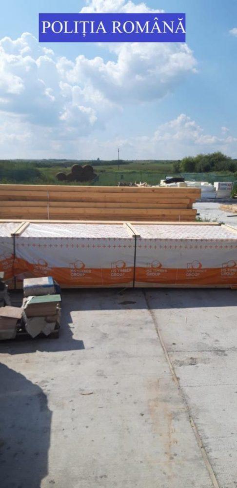 Zeci de metri cubi de lemne, confiscate ! Amenzi mari (Foto)