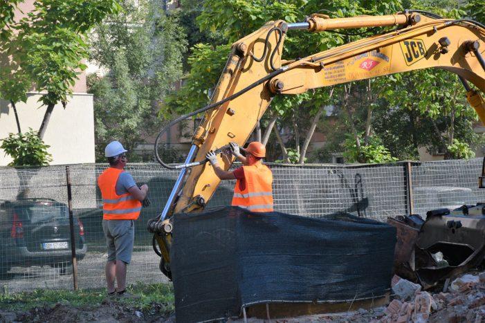 Centru social pe Ostrovului ! A început construcția ! (Foto)