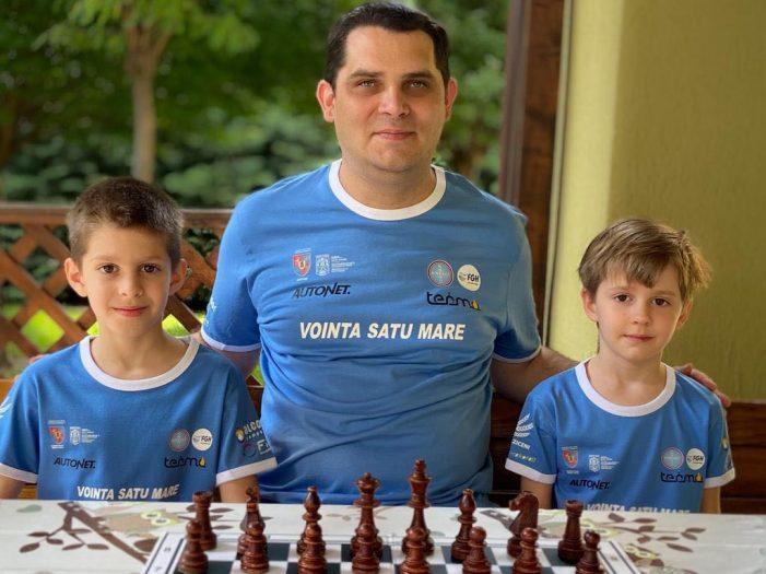 Frații Kovacs au dominat turneele de U8 de la Miercurea Ciuc (Foto)